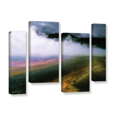 Brushstone Approaching Storm 4-pc. Gallery WrappedStaggered Canvas Wall Art