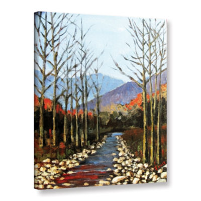 Brushstone Autumn Rising Gallery Wrapped Canvas Wall Art