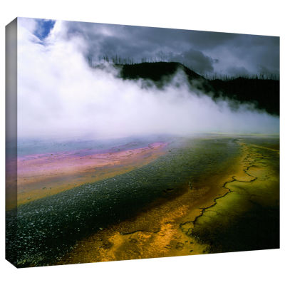 Brushstone Approaching Storm Gallery Wrapped Canvas Wall Art