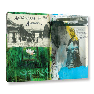 Brushstone Art Journal Architecture Gallery Wrapped Canvas Wall Art
