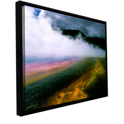 Brushstone Approaching Storm Gallery Wrapped Framed Canvas Wall Art