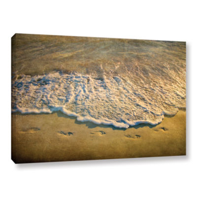 Brushstone At Waters Edge Gallery Wrapped Canvas Wall Art