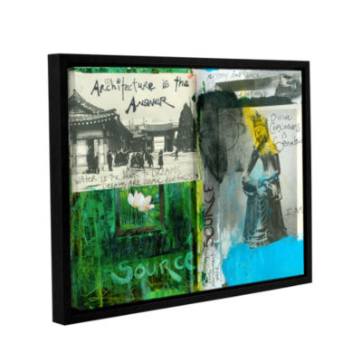 Brushstone Art Journal Architecture Gallery Wrapped Floater-Framed Canvas Wall Art
