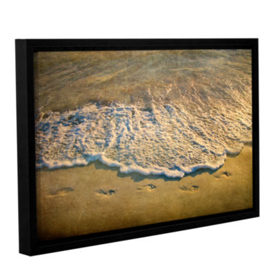 Brushstone At Waters Edge Gallery Wrapped Framed Canvas Wall Art