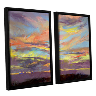 Brushstone Atahualpa Sunset 2-pc. Framed Canvas Wall Art