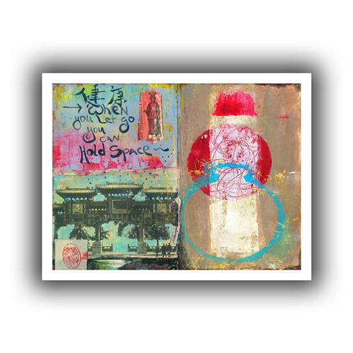 Brushstone Art Journal Let Go Canvas Wall Art