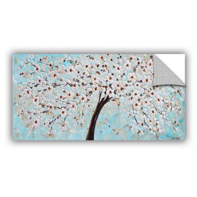 Brushstone Blossoms Removable Wall Decal