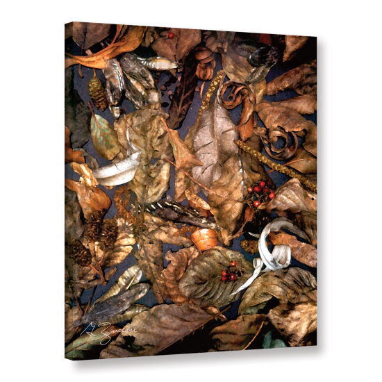 Brushstone Autumn Sonata Gallery Wrapped Canvas Wall Art