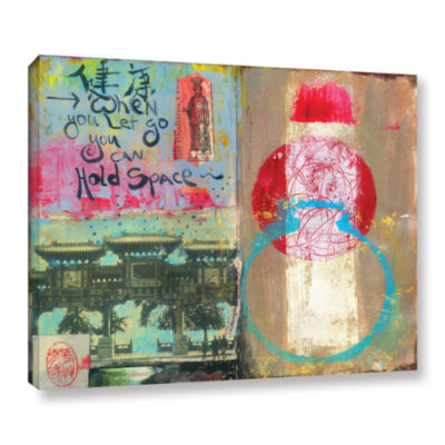 Brushstone Art Journal Let Go Gallery Wrapped Canvas Wall Art