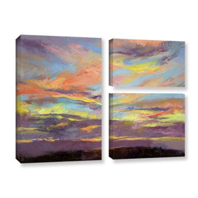 Brushstone Atahualpa Sunset 3-pc. Gallery WrappedCanvas Wall Art