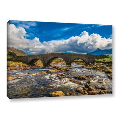 Brushstone The Old Stone Bridge Gallery Wrapped Canvas Wall Art
