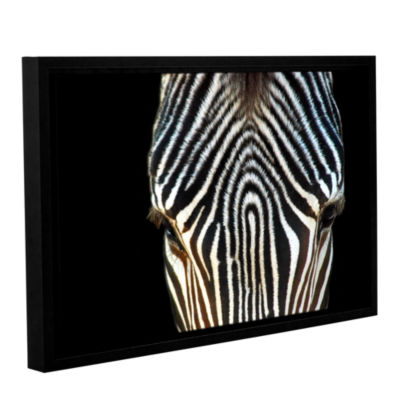 Brushstone Animal Print Gallery Wrapped Floater-Framed Canvas Wall Art