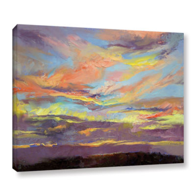 Brushstone Atahualpa Sunset Gallery Wrapped CanvasWall Art