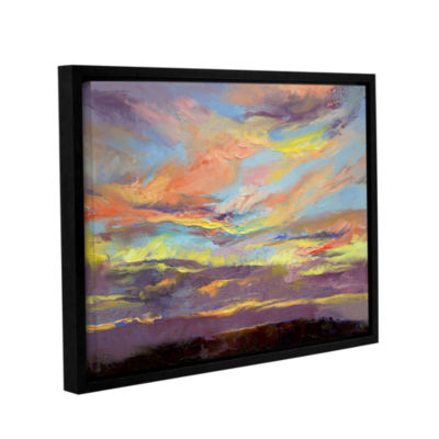 Brushstone Atahualpa Sunset Gallery Wrapped FramedCanvas Wall Art