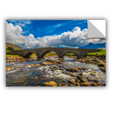 Brushstone The Old Stone Bridge Removable Wall Decal