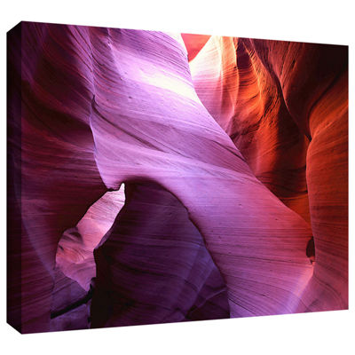 Brushstone Antelope Bridge Gallery Wrapped CanvasWall Art