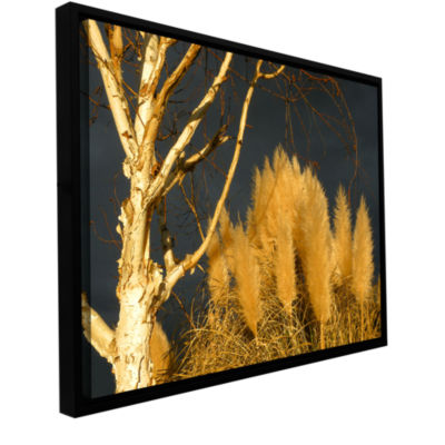 Brushstone Autumn Storm Light Gallery Wrapped Framed Canvas Wall Art
