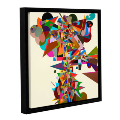 Brushstone Atherton Gallery Wrapped Framed CanvasWall Art