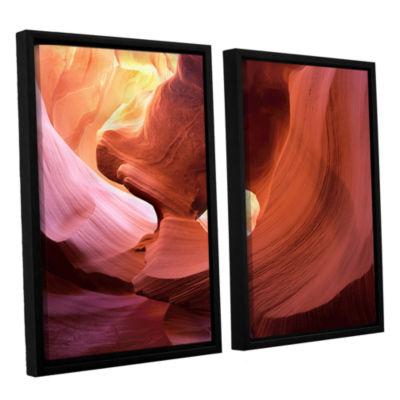 Brushstone Antelope Window 2-pc. Framed Canvas Wall Art