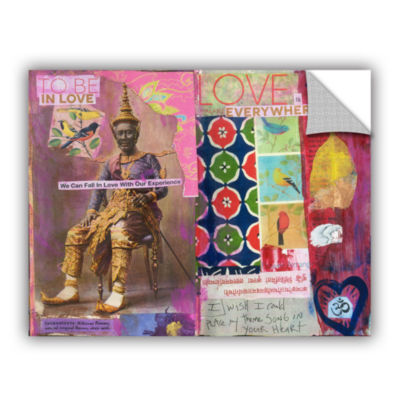 Brushstone Art Journal Love Is Removable Wall Decal