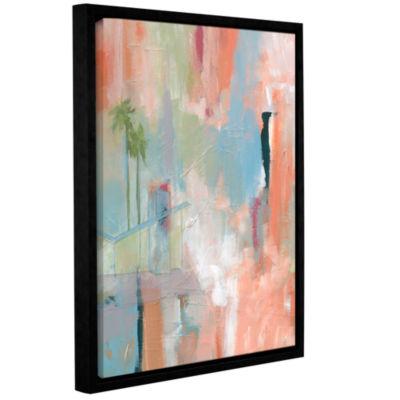 Brushstone Desert Living 1 Gallery Wrapped Floater-Framed Canvas Wall Art