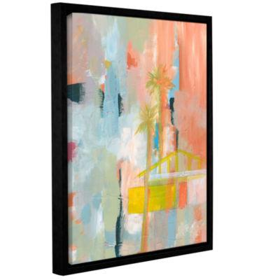 Brushstone Desert Living 3 Gallery Wrapped Floater-Framed Canvas Wall Art