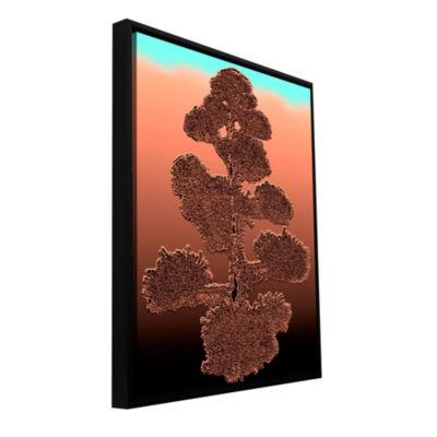 Brushstone Desert Vision Gallery Wrapped Floater-Framed Canvas Wall Art