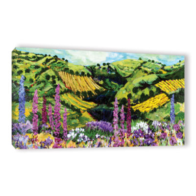 Brushstone Different Garden Gallery Wrapped CanvasWall Art