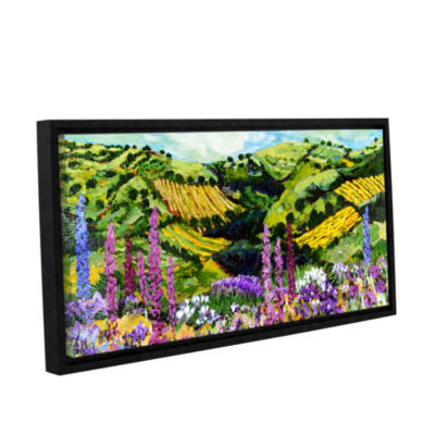Brushstone Different Garden Gallery Wrapped Floater-Framed Canvas Wall Art