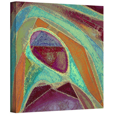 Brushstone Dirty Geometry Gallery Wrapped Canvas Wall Art