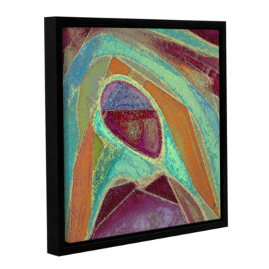 Brushstone Dirty Geometry Gallery Wrapped Floater-Framed Canvas Wall Art