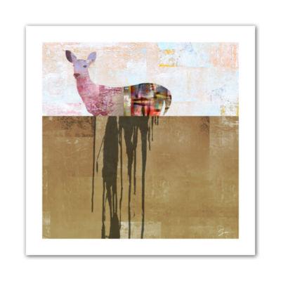 Brushstone Dissolve I Canvas Wall Art