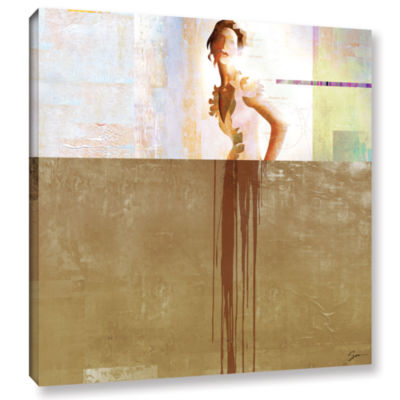 Brushstone Dissolve Iii Gallery Wrapped Canvas Wall Art