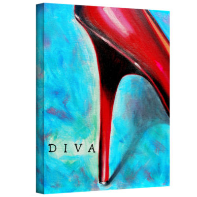 Brushstone Diva Gallery Wrapped Canvas Wall Art