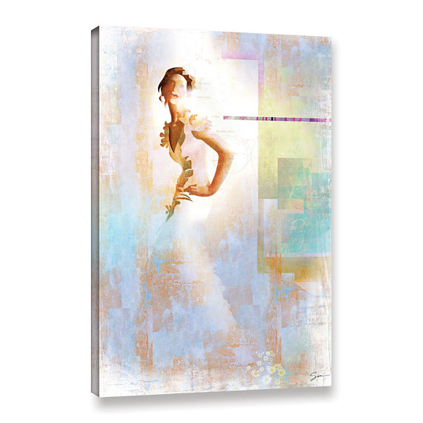 Brushstone Diva I Gallery Wrapped Canvas Wall Art