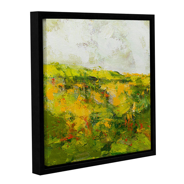 Brushstone Doncaster Gallery Wrapped Floater-Framed Canvas Wall Art