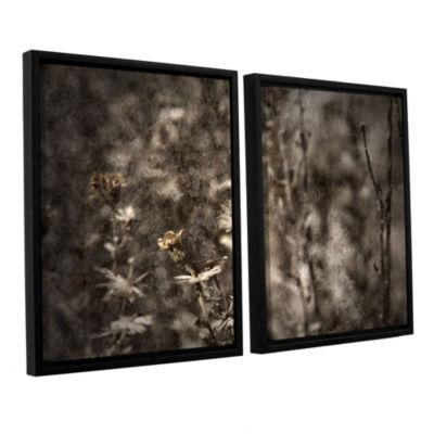 Brushstone Dormant 2-pc. Floater Framed Canvas Wall Art