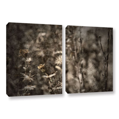 Brushstone Dormant 2-pc. Gallery Wrapped Canvas Wall Art
