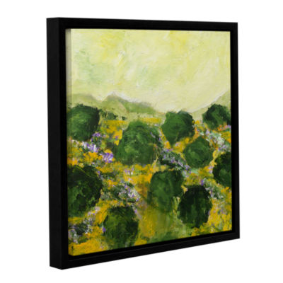 Brushstone Dover Gallery Wrapped Floater-Framed Canvas Wall Art