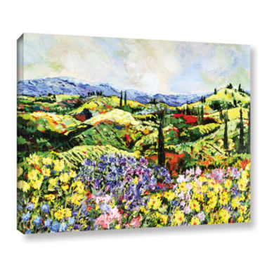 Brushstone Dream Valley Gallery Wrapped Canvas Wall Art