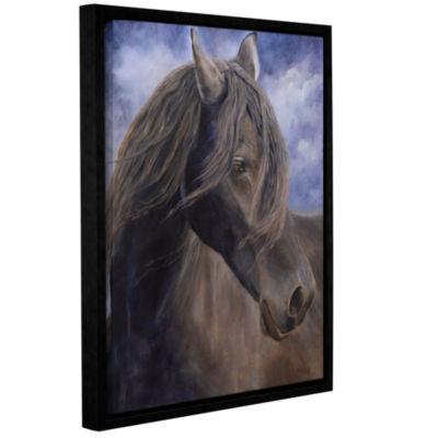 Brushstone Dreamer Gallery Wrapped Floater-FramedCanvas Wall Art