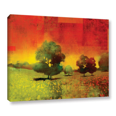 Brushstone Drenched Grace Gallery Wrapped Canvas Wall Art
