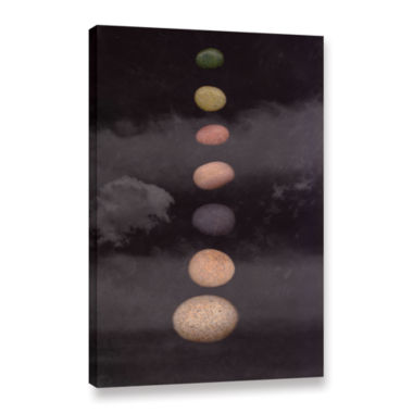 Brushstone Drift Gallery Wrapped Canvas Wall Art