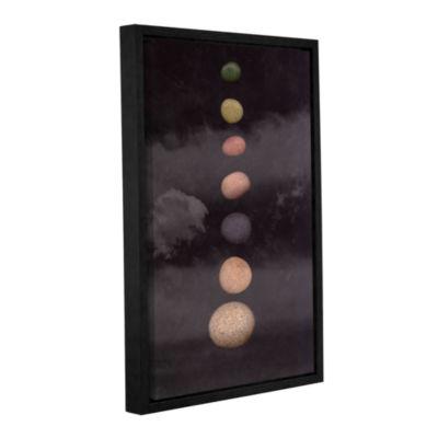 Brushstone Drift Gallery Wrapped Floater-Framed Canvas Wall Art