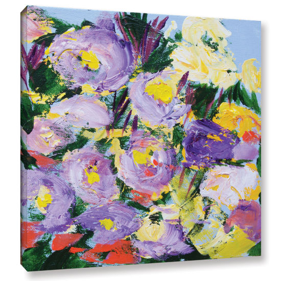 Brushstone Dumbarton Oaks Garden Gallery Wrapped Canvas Wall Art
