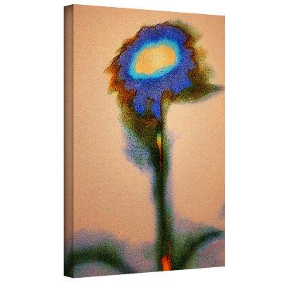 Brushstone Dune Flower Gallery Wrapped Canvas WallArt