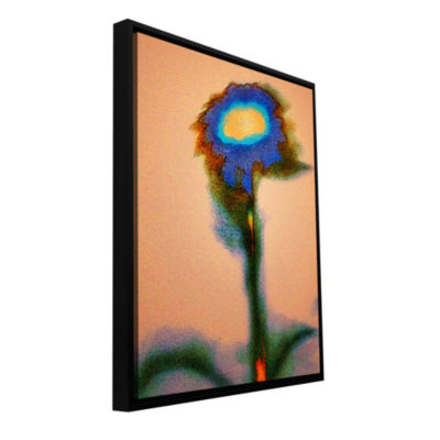 Brushstone Dune Flower Gallery Wrapped Floater-Framed Canvas Wall Art