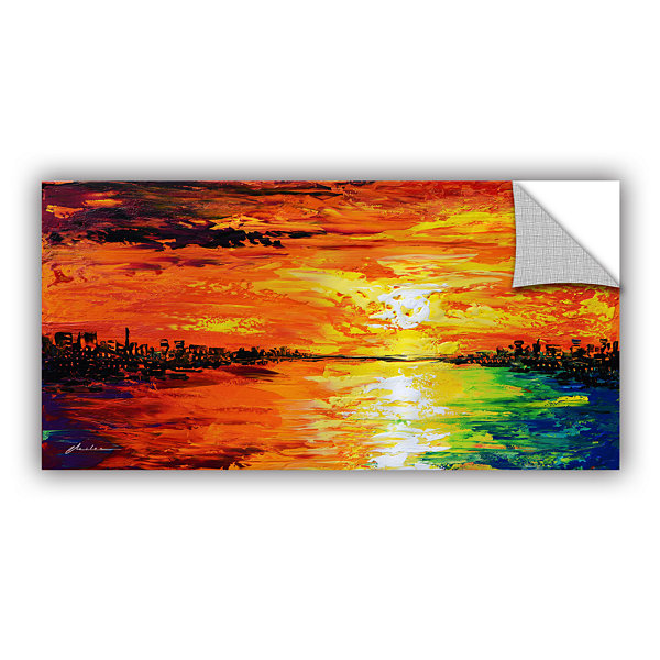 Brushstone Dusk's Dawn Removable Wall Decal