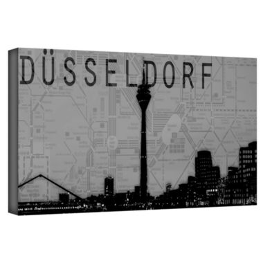 Brushstone Dusseldorf Gallery Wrapped Canvas WallArt