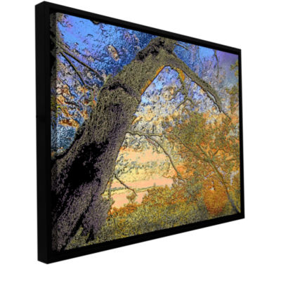 Brushstone Eagle Point Gallery Wrapped Floater-Framed Canvas Wall Art
